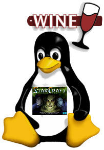 ubuntu starcraft StarCraft in Ubuntu? YES, Drink the WINE!