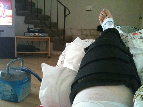 cooling machine after knee surgery